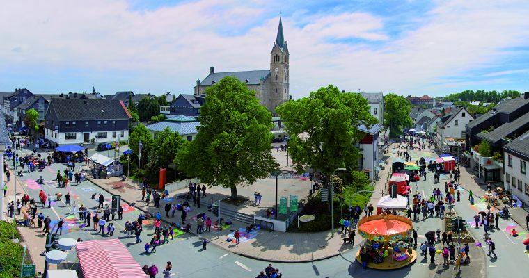 Straßenmalerfest.de für Medebach am 28. Mai 2017