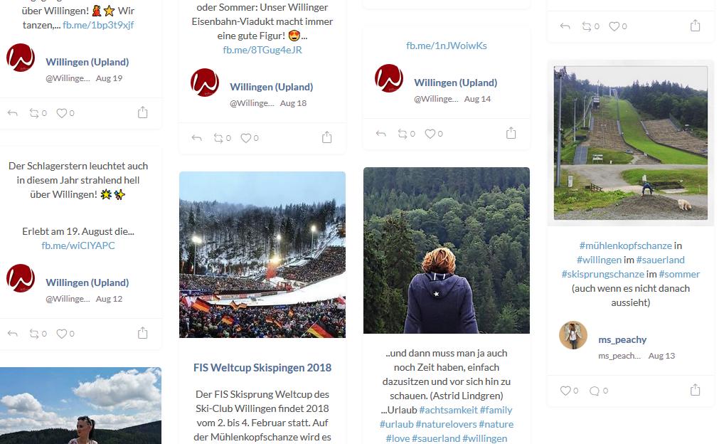 Alter Trend ist aktueller Geheimtipp: Socialmedia Walls