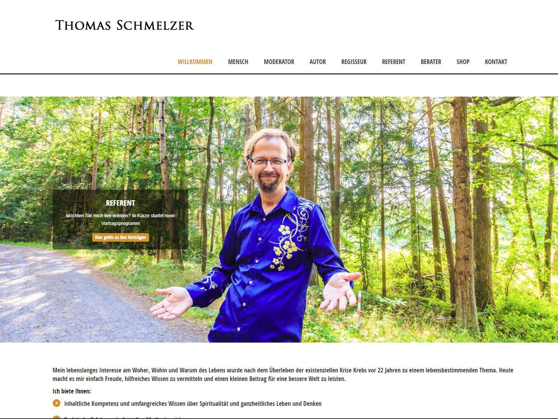 Thomas Schmelzer mit neuer Webseite