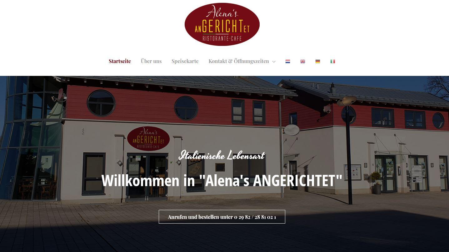 Alenas-Angerichtet.de – Italienische Lebensart in Medebach