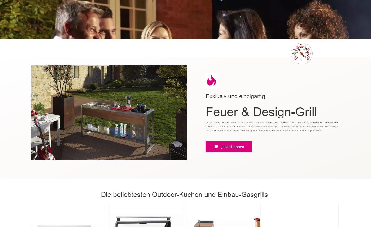Neuer Onlineshop für www.kaminofenambiente.de